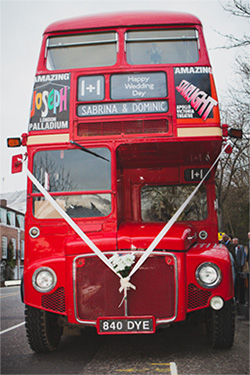 Red Routemaster Bus - Double Decker